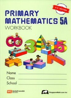 Primary Mathematics 5a: Us Edition  PMUSW5A (Primary Mathematics Us Edition)