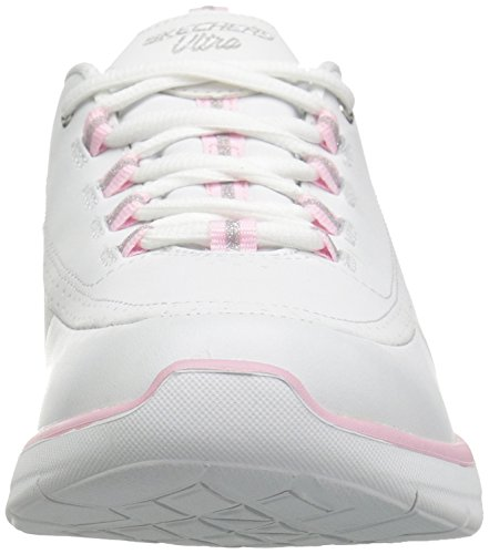 0 Skechers Synergy Sneaker Fashion Pink Sport 2 Women's White rHwxOqH