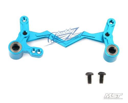 Mst Alum. Steering Arm Set (Blue)