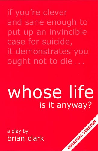 whose life is it anyway amazon co uk brian clark  whose life is it anyway amazon co uk brian clark 9780906399002 books