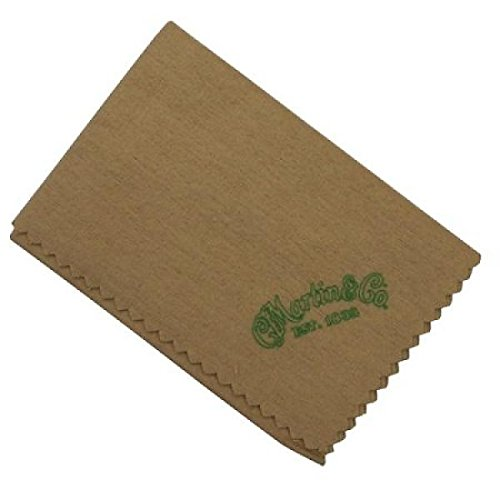 C F Martin 18A0091 Guitar Cleaning Cloth, Tan (Martin Guitar Polish)