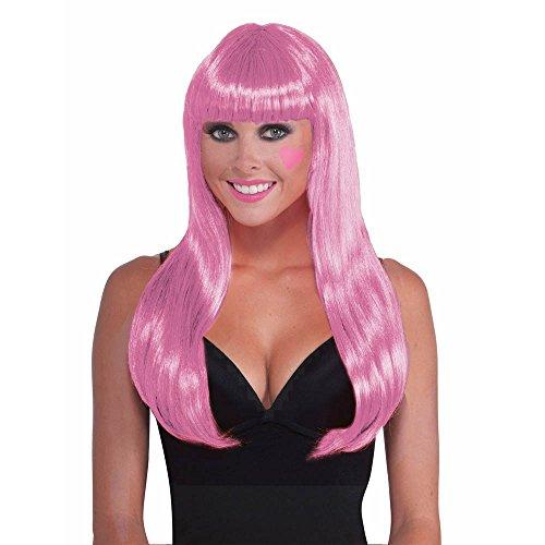 Shindigz Pink Costume Wig -