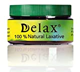 Cheap Delax 100% Natural Laxative Herbal Powder Supplements Comfortable Digestive System Antioxidants & Anti-Inflammatory Components | Dietary Fibers | Easy Release | (120g / 4.23 oz. (~20 Servings))