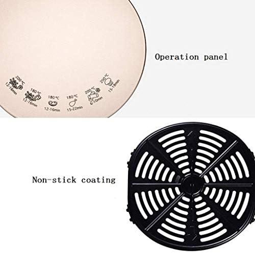 SHUUY Air Fryer, Watt Base programmable for Air Frire, Rôtir, Réchauffage Déshydratation avec Le Panier revêtu de céramique