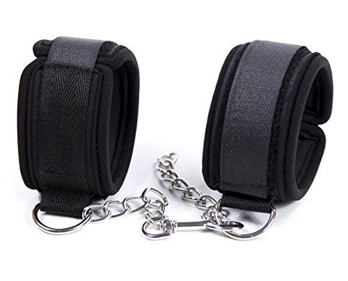 Wrist Cuffs Restraints (Finov Foam Padded Restraint Handcuffs Adjustable Wrist Cuffs)