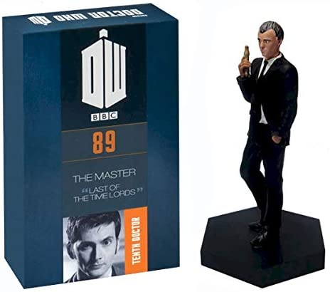 Official Licensed Merchandise Doctor Who Figure The Master John Sims Hand Painted 1:21 Scale Collector Boxed Model Figurine #89