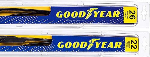 Premium - Windshield Wiper Blade Bundle - 3 Items: Driver & Passenger Blades & Reminder Sticker fits 2010-2015 Lexus RX350
