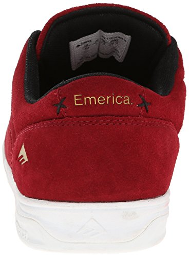 EMERICA Skate Shoes THE HERMAN G6 RED/WHITE/BLACK Size 12