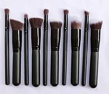 8adcfb4c4b99 Amazon.com: Kaputar Professional 10pcs Makeup Brushes Set Cosmetic ...