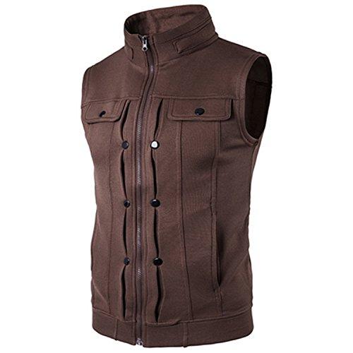 feilongzaitianba Male Waistcoat Tactical Vest Jacket Colorfu