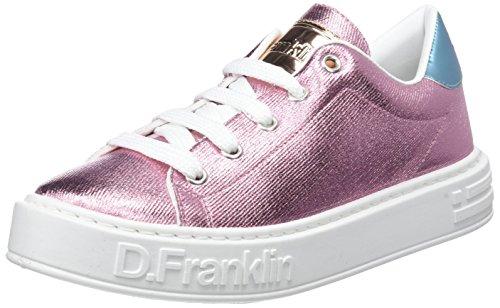 Basse Donna Pink Franklin Scarpe D da Gumme Metal Ginnastica Rosa qTnO1w