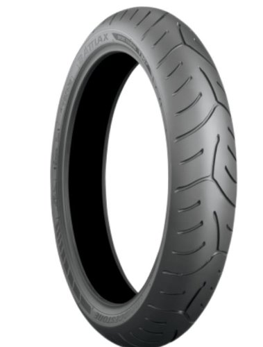 Bridgestone Battlax Sport Touring T30 Tire - Front - 120/ 60ZR-17 , Position: Front, Rim Size: 17, Tire Application: Touring, Tire Size: 120/60-17, Tire Type: Street, Load Rating: 55, Speed Rating: (W), Tire Construction: Radial 000881