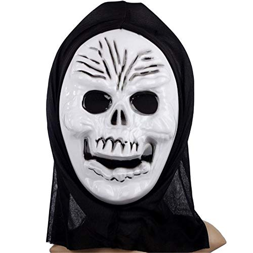Scary Horrifying Halloween Festival Cosplay Costume Mask For Party -