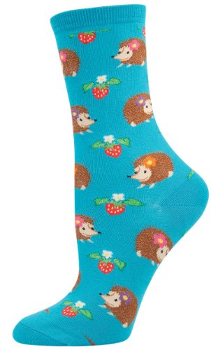 Socksmith Hedgehogs Socks (Bright Blue)