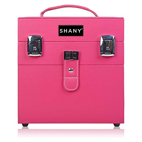 SHANY Color Matters - Nail Accessories Organizer and Makeup Train Case - Sugar Gum by SHANY Cosmetics