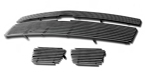 Fits 2007-2014 Chevy Tahoe/Suburban/Avalanche Billet Grille Grill Insert Combo # (Chevy Avalanche Grills)