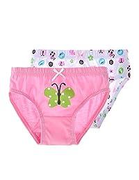 Girls Briefs Toddler Underwear Cotton Sports Panties 4-Pack