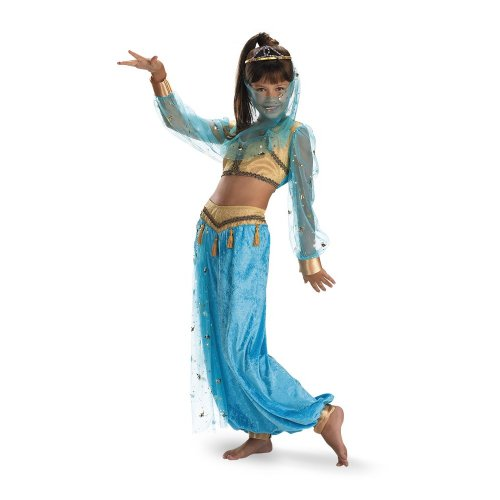 Female Genie Costumes (Mystical Genie Costume - Medium (7-8))