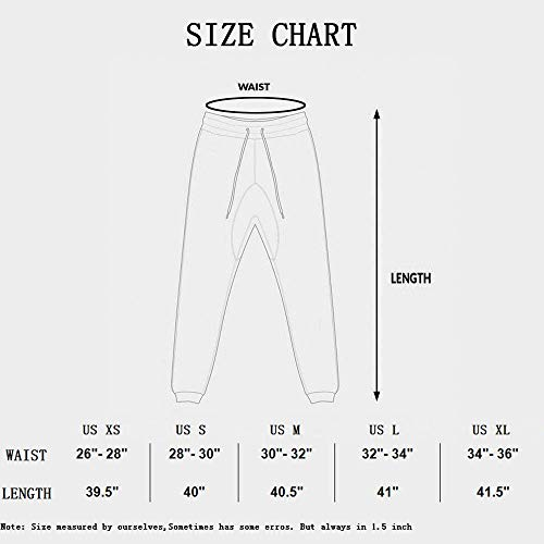 EVERWORTH Men's Joggers Sweatpants Men's Slim Jogger Pants Tapered Gym Running Workout Pant with Deep Pockets