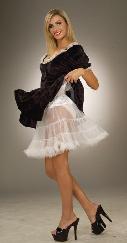 "19"" Crinoline Petticoat Costume Accessory - Standard - Dress Size 6-12"