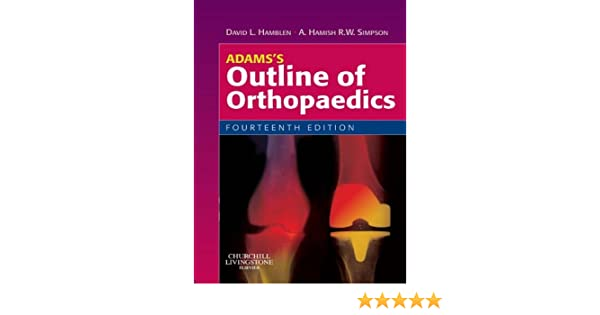 Adams Orthopedics Ebook