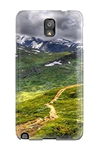 Brand New Note 3 Defender Case For Galaxy (mountain Landscape)