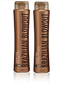Brazilian Blowout Anti-Frizz Shampoo & Conditioner, 12 Ounce bottles