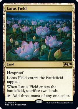 Magic: The Gathering - Lotus Field - Foil - Core Set 2020