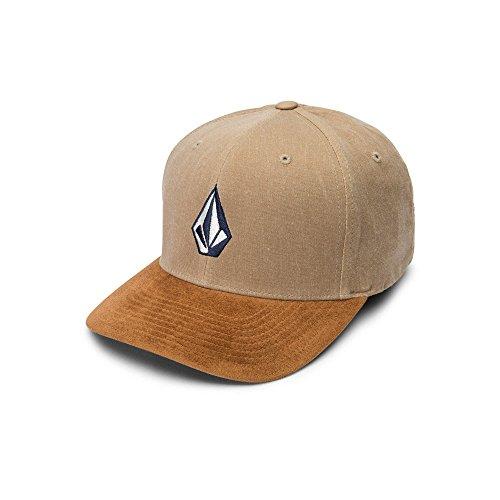 Volcom Volcom Full Stone - Volcom Men's Full Stone Heather Flexfit Stretch Twill Hat, Sand Brown, L/XL