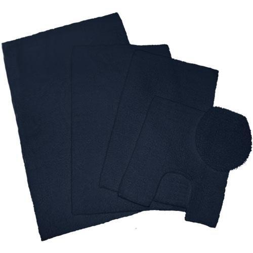 Welspun Nautica J Class Bleach Safe 100 Percent Cotton Bath Rug M