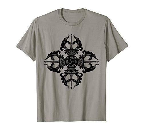 Vajra T-Shirt Vajrayana Buddhism Buddhist Symbol...