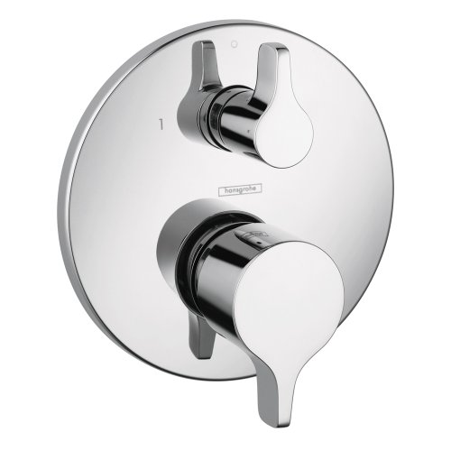 Hansgrohe 4448000 S/E Trim Pressure Balance with Diverter, Chrome