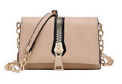 Pu Life Crossed Aalardom Women's Pants Bags Daily Chains Casual Khaki FqgtO