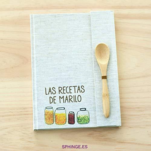 Sphinge - Recetario en blanco personalizado   Libro de