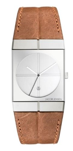 Jacob Jensen 233 Mens Icon Brown Watch