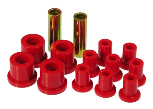 Prothane 4-1017 Red Rear Spring and Shackle Bushing - Plymouth Bushings