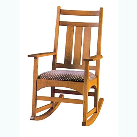 Build Your Own Mission Rocking Chair Plan American Furniture Design Only
