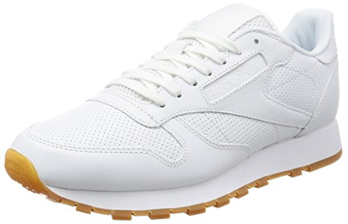 Reebok Classic Leather Trainers Black White get authentic for sale s0bEiJ