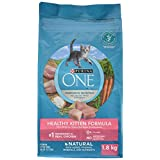 Purina ONE Healthy Kitten Natural Dry Cat Food - 1.8 kg bag
