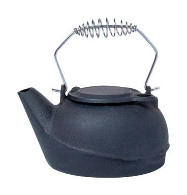 Black Cast Iron Kettle 2.5 qt