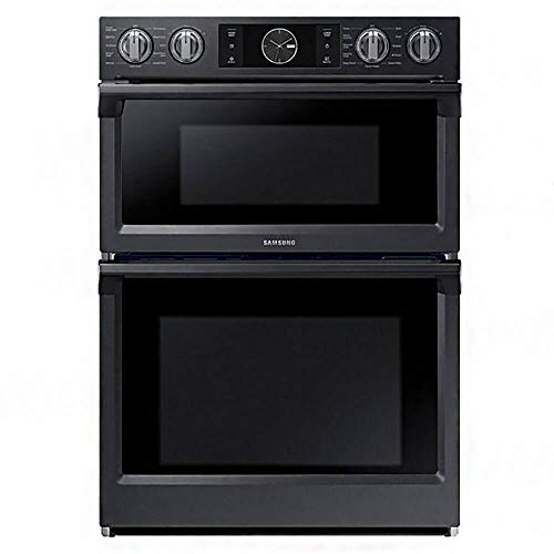Samsung NQ70M7770DG / NQ70M7770DG/AA / NQ70M7770DG/AA 7.0 Cu. Ft. Flex Duo Combination Black Stainless Electric Wall Oven (Certified Refurbished)