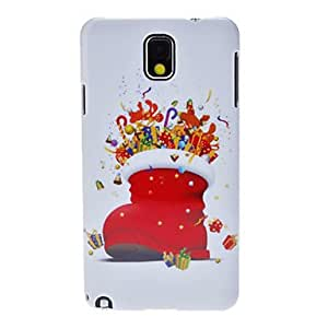 Buy Christmas Boot Back Case for Samsung Galaxy Note 3