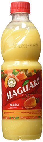 Maguary Cashew Juice Concentrate - 16.9 FL.Oz | Suco Concentrado Maguary Sabor Caju - 500ml - (PACK OF 04)