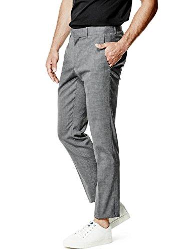GUESS Men's Maddox Slim Suit Pants