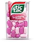 Tic Tac Strawberry Fields Net Weight 13.7 Grams (Pack of 12)