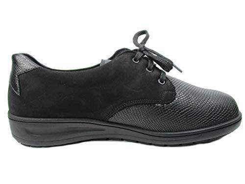 Solidus Lacets De Chaussures Noir À Ville Femme Pour wwHfpxZq