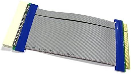 JXSZ 32Bit PCI to PCI Extender Riser Card PCI Male to Female Flexible Cable Ribbon for 1U//2U