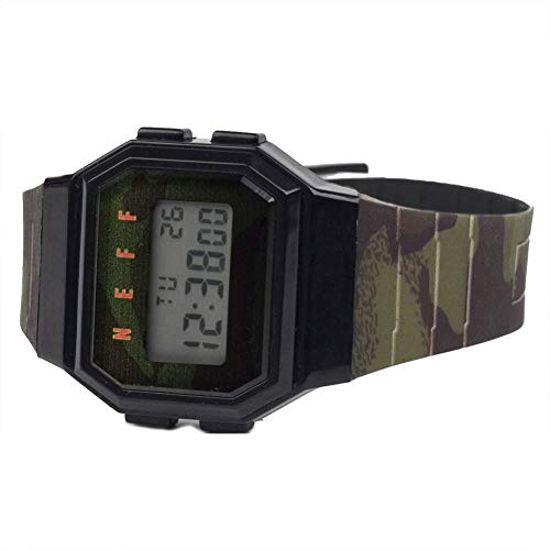 d Digital Water Resistant Watch Unisex, Nu Camo/Black, One Size ()
