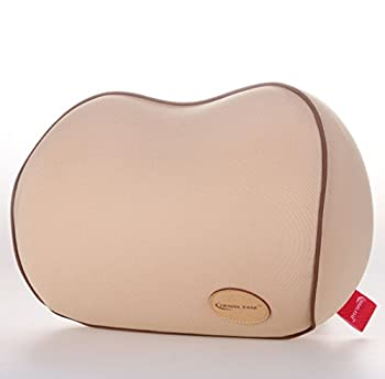 Travel Ease Premium Neck Support Cushion Memory Foam Car Neck Pillow for Driving(Beige)