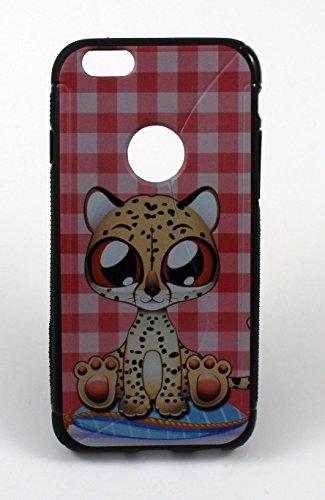 """Silikon Handy Back Case Cover Schale """"Small Leo"""" für """"Apple Iphone 6"""" Schutz Hülle Tasche Bumper"""